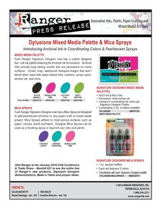 Dylan's Blog: Yayyyyy New Dylusions release...goodies galore