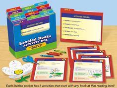 Leveled Books Activity Box - Levels A-P    #LakeshoreDreamClassroom