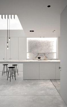 Stunning Kitchen space bright & modern #furniturehunters AD office interieurarchitect Arçen Dockx — LC 1114 | Gezinswoning