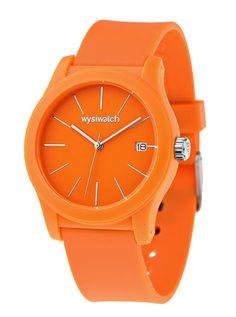Back to basics orange Wysiwatch