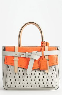 Damnit man - if only i could prove how good i am at spending money if someone would be kind enough to give me some!!!!      Reed Krakoff 'Boxer' Perforated Leather Satchel | Nordstrom