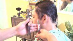 Corte de cabelo masculino 2016 vs Como Fazer Acabamento NA Tesoura Cabel...