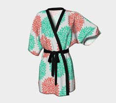 Flower Burst Kimono