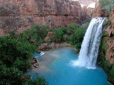Cañón Havasu, en el estado de Arizona, Estados Unidos.