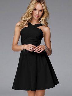 [17,75€] Magnifique robe de club en polyester noir de tenue séduisante pour femme