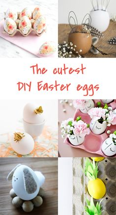 DIY to try # DIY Easter eggs | Ohoh Blog - diy and crafts