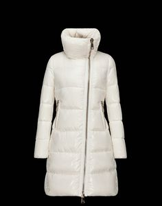 Women Moncler Down Jackets Joinville White