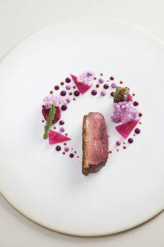 Purple Duck par Sang Hoon Degeimbre