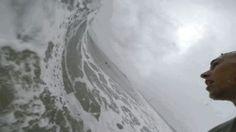 Surfing inside a Barrel