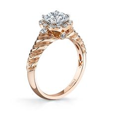 Rose Gold: A Timeless Romance Style # 18RM55099PDCZ]