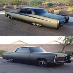 #murderedout '68 Cadillac Deville owned by @ckotowski99