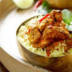 Découvrez la recette du curry indien tikka