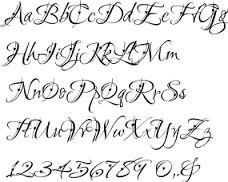 Resultado de imagem para calligraphy letters