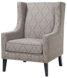 While stunning sitting solo, this wonderful wingback chair is equally ideal for having a seat or staging cozy accents. Try it in the corner of your living room to build a beautiful reading nook, lovely along with an end table topped with favorite books and a sparkling floor lamp nearby to cast a little light. Or, if your master suite could stand to be even more marvelous, just take this beauty into the bedroom! Paired with a plush tufted ottoman, it makes the perfect spot to kickback with…