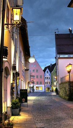 Fussen, Germany. I love this town! Great people, great restaurants, amazing…