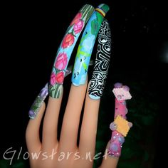 Nail Art Designs--hahahahahah christa!!!