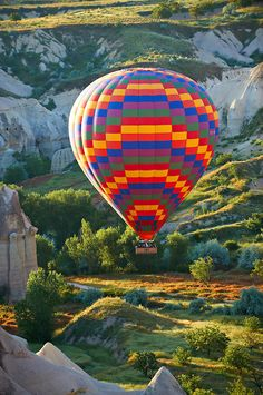 Hot Air Baloons over the Love Valley , Cappadocia Turkey.. fantastic