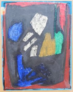"""just colors. Thoralf Bjönnes named as art-prof. which studied art: Picture remembers him at """"arte povere"""" ------ Art Studies, Some Words, Art Pieces, The Creator, Things To Sell, My Style, Colors, Painting, Artworks"""