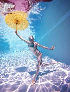 Underwater Study 2778 by Howard Schatz