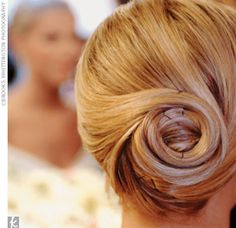 twirly bun