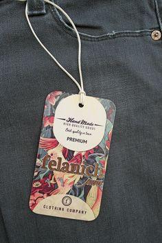 Branding, Brand Identity, Label Tag, Clothing Tags, Tag Design, Marketing, Fashion Labels, Hang Tags, Clothing Company
