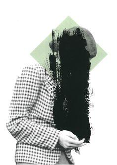 Siebdruck - ZEITGEIST Siebdruck Collage A3 Geometrics Mint - ein Designerstück von Morkebla bei DaWanda