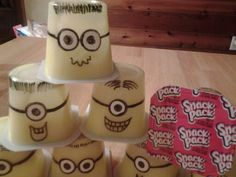Minion Snack Packs.