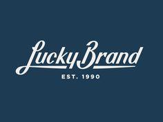 Dribbble - Lucky Brand pt. II by Jay Fletcher