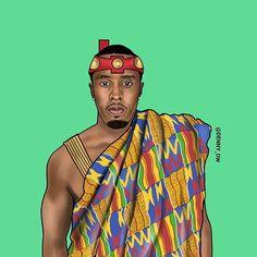 Sean Puffy Nana Antwi Combs #art #artlife #fashion #densah #shirt #leaves #style #brand #fashion #empire #leaves #heart #streetfashion #streetwear #virgilabloh #streetstyle #fashionblog #villageboys #ghana #africa #plantainboy #handpainted #ghettokids #uganda #nigeria #southafrica #kenya #jayz @hiphopart #hiphopart #badboy #revolt #revolttv GOD IS KING