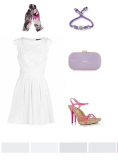 White, Pink & Purple