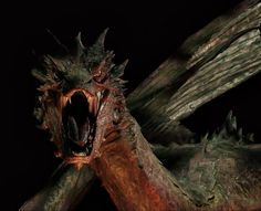 """Smaug (Benedict Cumberbatch) from """"The Hobbit the Desolation of Smaug"""" (2013)"""