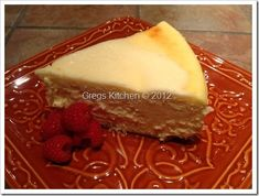New York Style Cheesecake | Greg Kantner/Greg's Kitchen