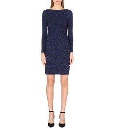 MICHAEL MICHAEL KORS - Ellensburg leopard-print stretch-jersey dress | Selfridges.com