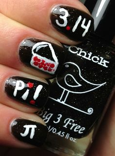 Nails by an OPI Addict: Happy Pi Day!