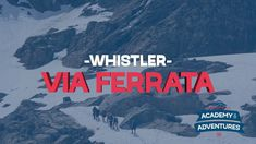Via Ferrata Tour - Whistler, BC - Mountain Skills Academy & Adventures Whistler, Hiking, Tours, Adventure, Vacation, Feelings, Summer, Walks, Vacations