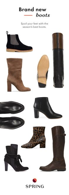 The best boots of the season are all on Spring. With over 1,250 brands, you can always find the style you're after from the designers you love. Plus free shipping + free returns.