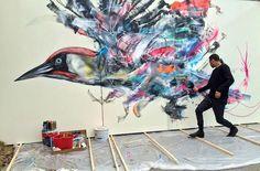 L7m street art, Paris.
