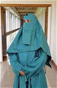 i believe in our local hospital they have disposal hijabs and niqabs for the medical students