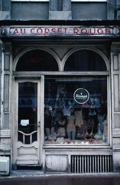 Corset Shop in Northern France ~ by Lille (1) From: Lonely Planet, please visit
