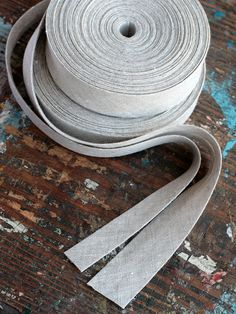 Linen bias tape -- width 2 cm or 3 cm by namolio on Etsy (null)