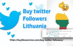 Buy Twitter Followers Lithuania Twitter Followers, Best Sites, Lithuania, Stuff To Buy