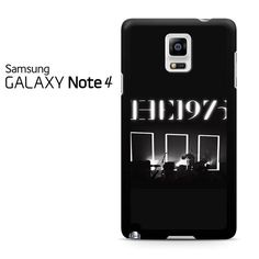 The 1975 Album Cover Black And White Samsung Galaxy Note 4 Case