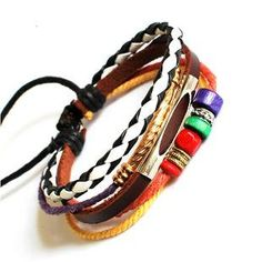 Jewelry Bangle bracelet women Leather Bracelet by braceletcool, $7.50