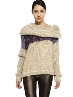 MES DEMOISELLES OVERSIZE HOODED WOOL SWEATER - http://lustfab.com/shop-lust/mes-demoiselles-oversize-hooded-wool-sweater/