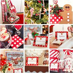 holiday gingerbread party by Schoolgirl Style  www.schoolgirlstyle.com