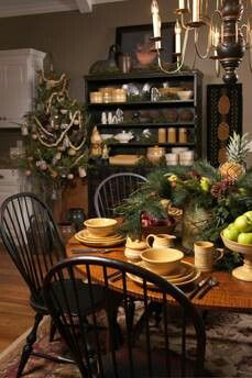 Ragoon House Christmas Table setting photo