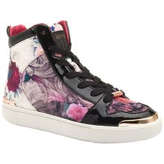 378f12325 Ted Baker Paryna High Top Flat Trainers