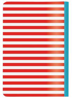 Workbook A5 2in1 - Flowers/Stripes | Cedon