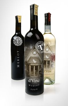 Tuscany & Franck's Restaurant Wine Bottle Designs by Rod Burkholz, via Behance Wine Bottle Design, Wine Label Design, Wine Bottle Labels, Wine Bottles, Best Online Wine Store, Alcohol Bottles, Wine And Liquor, Bottle Packaging, Wine And Spirits