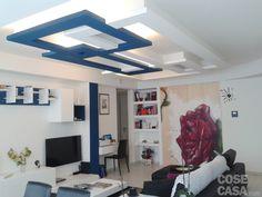 Una Casa Con Giochi Di Luce: Soluzioni Du0027arredamento E Finiture  Personalizzate. Pop False Ceiling DesignFalse Ceiling IdeasLiving Room ...